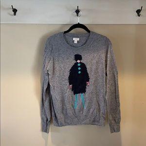 JCrew merino wool blend sweater